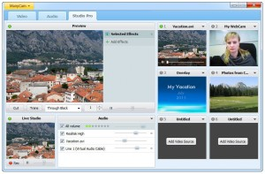 manycam webcam splitter software