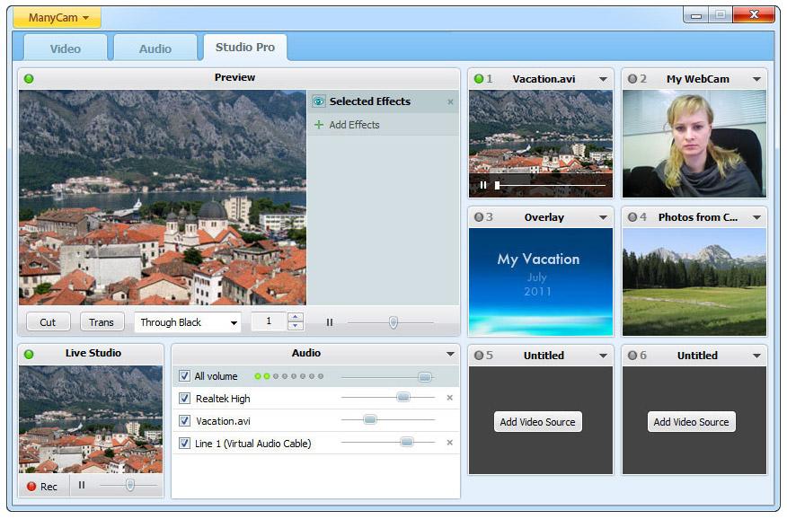 News & updates: ManyCam 3.0 for Windows has arrived |ManyCam Blog ...