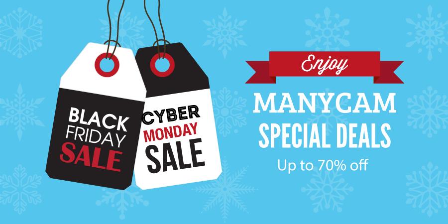 Promotions: Enjoy Black Friday & Cyber Monday deals| ManyCam