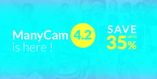 ManyCam 4.2 for Mac promotion