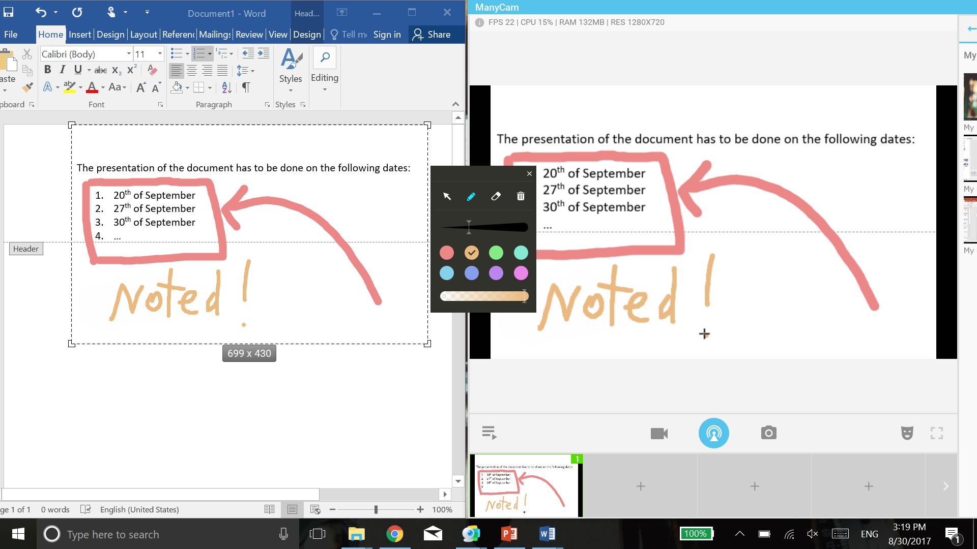 Screencast Your Desktop With Manycam Manycam Blog Manycam Blog