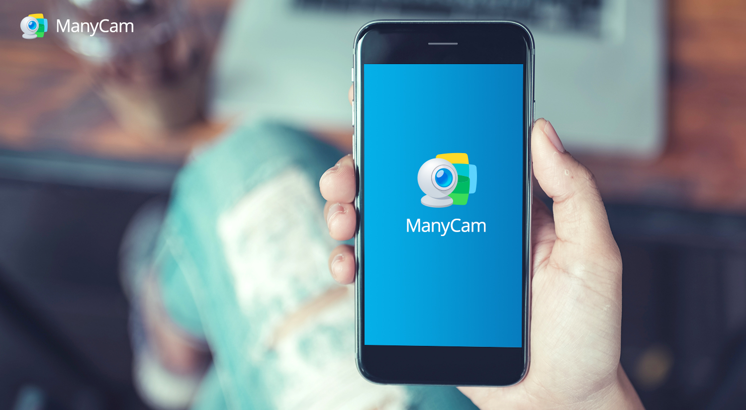 Turn your smartphone into a webcam with the ManyCam App