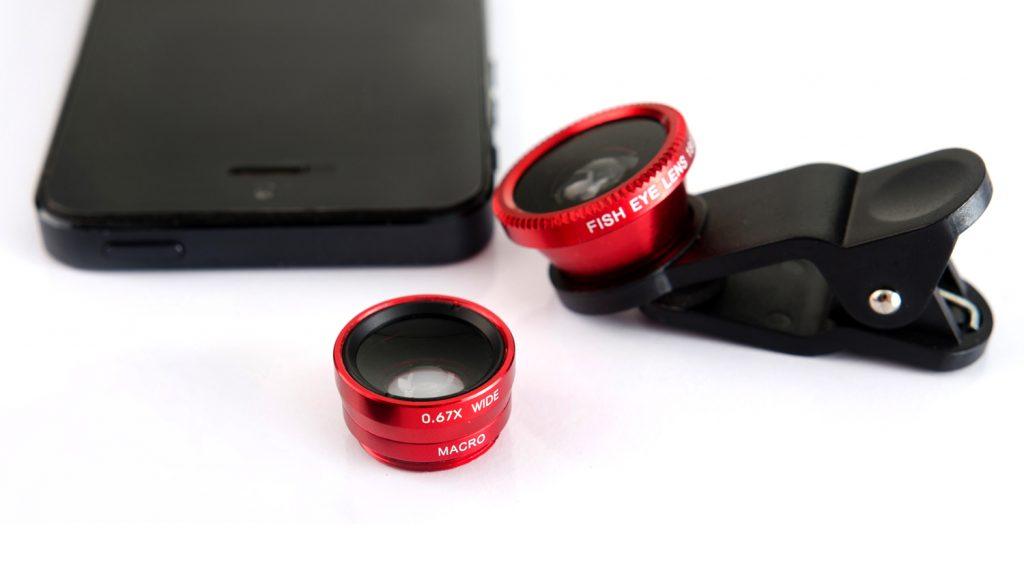mobile live streaming gear lens