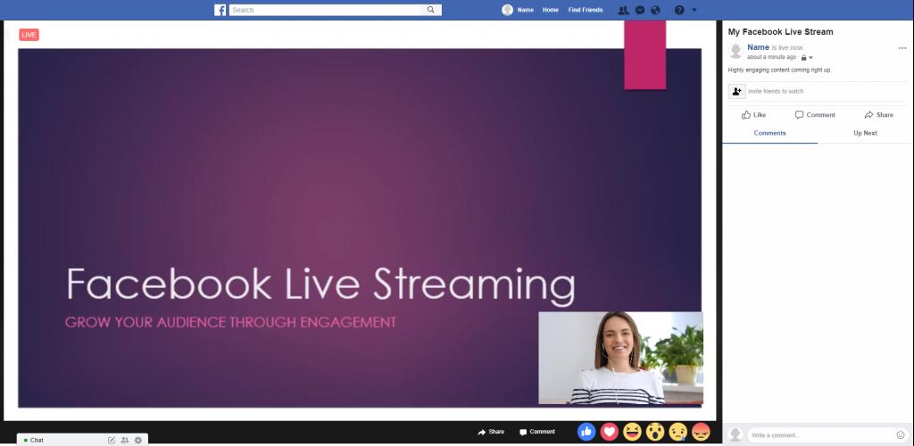 Live-on-facebook