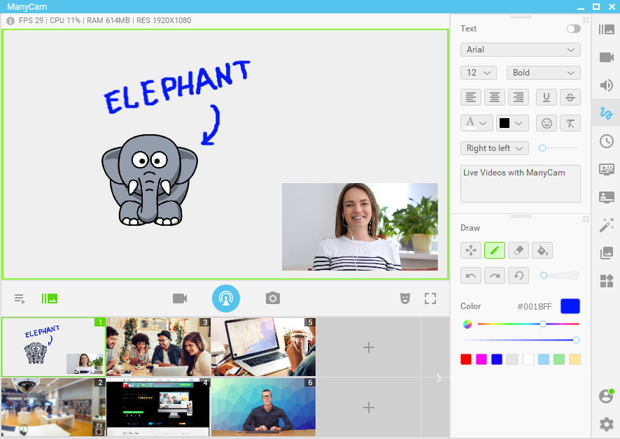 Online ESL teaching resources - Elephant