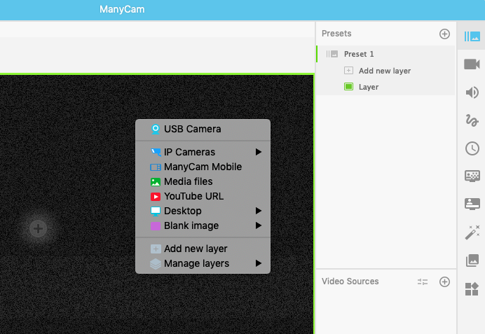 Add Webcam