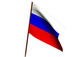 Manycam Effect Russian Waving Flag