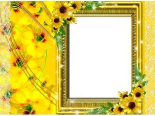 sunflower frame - Sunflower Picture Frames