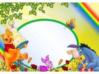 Manycam Effect Winnie The Pooh Frame