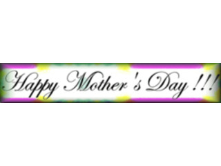 Banner Happy Mothers Day