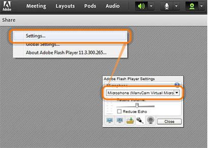 how to connect milota flash