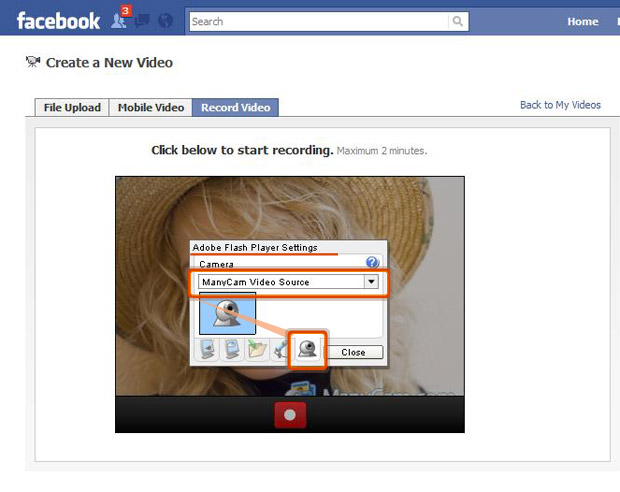 facebook video call setup.exe file